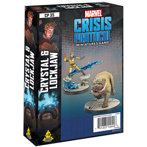 Marvel Crisis Protocol: Crystal & Lockjaw Character Pack - Sweets and Geeks