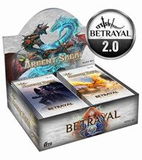 Argent Saga TCG: Betrayal Booster Box - Sweets and Geeks