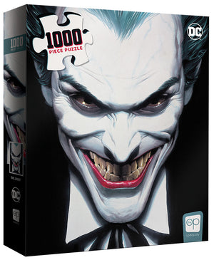 "Joker ""Clown Prince of Crime"" 1000 Piece Puzzle - Sweets and Geeks"
