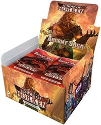 Argent Saga TCG: Echoes of Hokken Booster Box - Sweets and Geeks