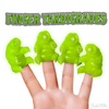 FINGER PUPPETS - GLOW IN THE DARK TARDIGRADES - Sweets and Geeks