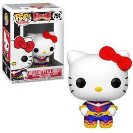 Funko Pop! Hello Kitty MHA - Hello Kitty All Might #791 - Sweets and Geeks
