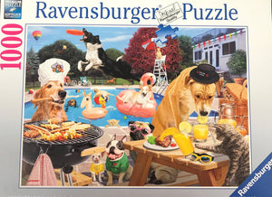 Dog Days of Summer 1000pc Puzzle - Sweets and Geeks