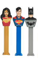 PEZ BLISTER PACK - DC Comics - Sweets and Geeks