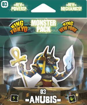 King of Tokyo - Monster Pack #3 Anubis - Sweets and Geeks