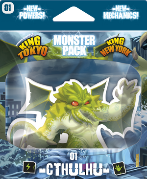 King of Tokyo - Monster Pack #1 Cthulhu - Sweets and Geeks