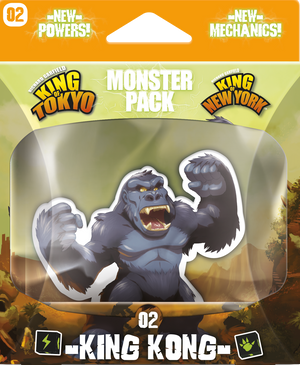 King of Tokyo - Monster Pack #2 King Kong - Sweets and Geeks