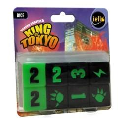 King of Tokyo Dice - Sweets and Geeks