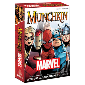 MUNCHKIN®: Marvel Edition - Sweets and Geeks