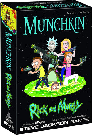 MUNCHKIN®: Rick And Morty™ - Sweets and Geeks