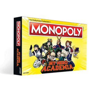 MONOPOLY®: My Hero Academia - Sweets and Geeks