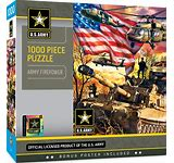 Army Firepower 1000pc Puzzle - Sweets and Geeks