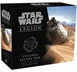 Star Wars Legion: Crashed Escape Pod - Sweets and Geeks