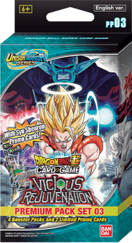 Dragon Ball Super: Premium Pack Set 3 - Sweets and Geeks