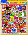 Cereal Boxes 1000 Piece Jigsaw Puzzle - Sweets and Geeks