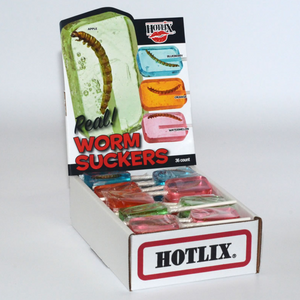 Hotlix: Worm Assorted Flavors - Sweets and Geeks