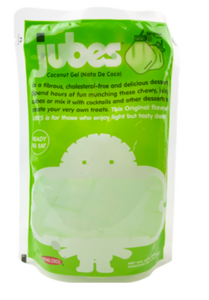 Jubes Flavored Coconut Cubes - Sweets and Geeks