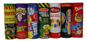 "Assorted 9"" Candy Tubes - Sweets and Geeks"