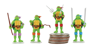 World's Smallest Micro Action Figures Teenage Mutant Ninja Turtles - Sweets and Geeks
