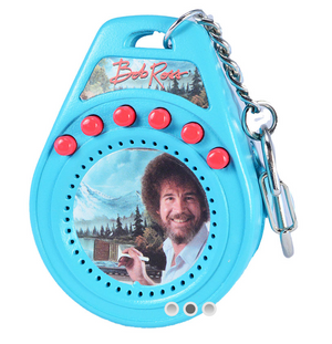 World's Coolest Bob Ross Talking Keychain - Sweets and Geeks