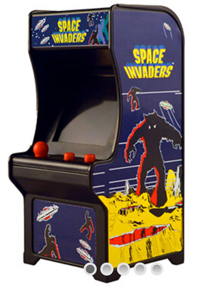 Tiny Arcade Space Invaders - Sweets and Geeks