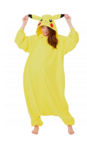 Kigurimi Full Body Pokemon Pikachu - Sweets and Geeks