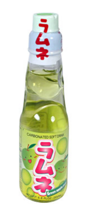 AFG Ramune Green Apple 200ml - Sweets and Geeks