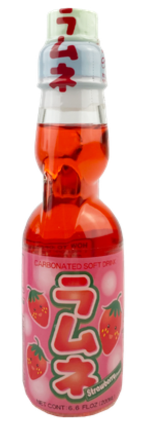 AFG Strawberry Ramune 200ml - Sweets and Geeks