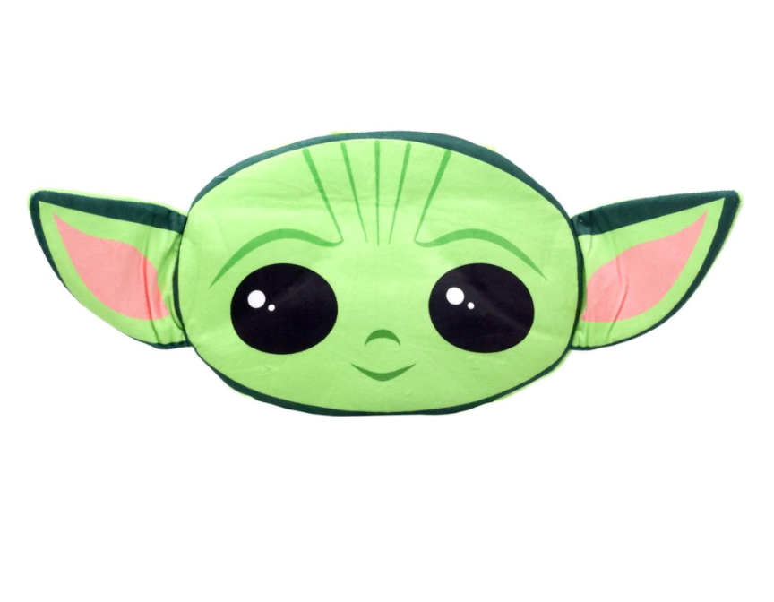 Star Wars The Mandalorian Baby Yoda Grogu Head Shaped Plush Pillow 1 Sweets And Geeks Grogu was born in the year 41 bby, and was raised at the jedi temple on coruscant. star wars the mandalorian baby yoda grogu head shaped plush pillow 18 inch backpack the child
