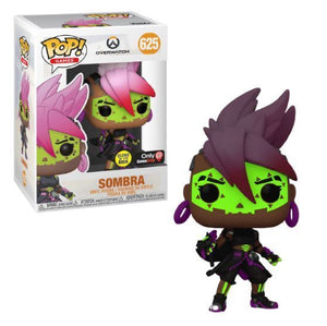 Funko Pop! Overwatch - Sombra (Glow in the Dark) #625 - Sweets and Geeks