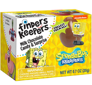 Finders Keepers Sponge Bob Chocolate Candy & Surprise - Sweets and Geeks