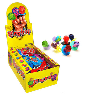 RING POP - ASSORTED - Sweets and Geeks