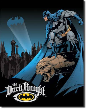 Batman The Dark Knight Metal Tin Sign - Sweets and Geeks