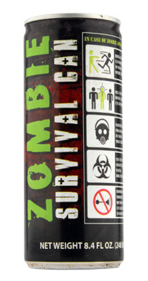 Zombie Survival Can Energy Drink - Sweets and Geeks
