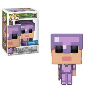 Funko Pop Games: Mojang Minecraft - Alex in Enchanted Armor (Walmart Exclusive) #325 - Sweets and Geeks