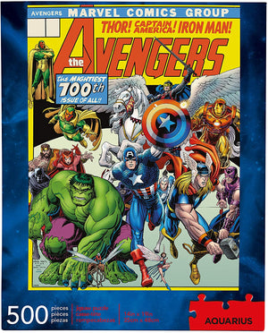 Marvel Avengers Cover 500pc Puzzle - Sweets and Geeks
