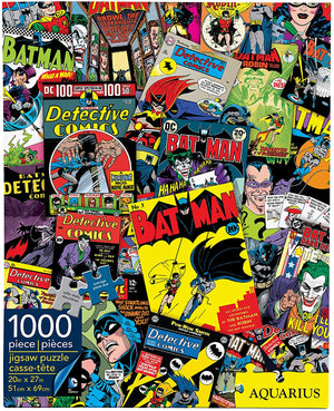 DC Batman Collage 1,000pc Puzzle - Sweets and Geeks