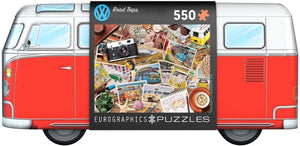 VW: Road Trips - 550pc Jigsaw Puzzle by Eurographics - Sweets and Geeks