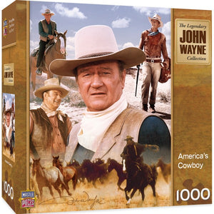 America's Cowboy 1000pc Puzzle - Sweets and Geeks