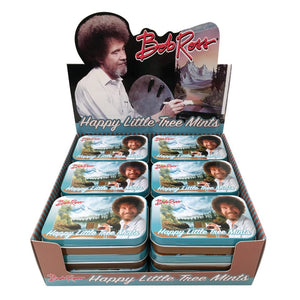 Bob Ross Happy Little Tree Mints - Sweets and Geeks