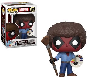 Funko Pop! Marvel - Deadpool as Bob Ross #319 - Sweets and Geeks