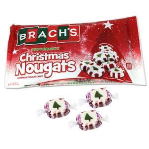 Brach's Peppermint Christmas Candy Nougats Mix 11oz - Sweets and Geeks