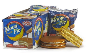 Double Decker Moon Pie - Salted Caramel - Sweets and Geeks