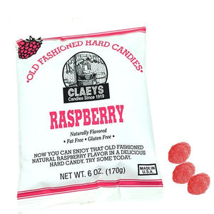 Claey's Natural Old Fashion Hard Candies 6oz Bag - Sweets and Geeks