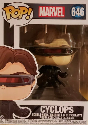 Funko Pop Marvel: 80th - First Appearance - Cyclops #502 (Item #40714) - Sweets and Geeks