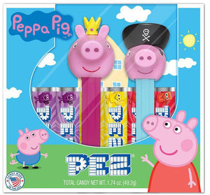 Peppa Pig Twin Pack PEZ - Sweets and Geeks