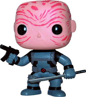 Funko Pop Marvel: Marvel - Deadpool (Unmasked) (X-Force) PX Previews #29 - Sweets and Geeks