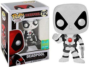 Funko Pop Marvel: Deadpool - Deadpool (Movie) (White) (Thumbs-Up) (2016 Summer Convention) #112 - Sweets and Geeks