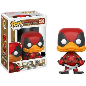 Funko Pop: Deadpool the Duck - Deadpool the Duck Walgreens Exclusive #230 - Sweets and Geeks