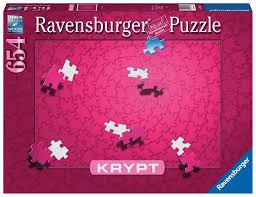 Krypt Pink 654pc Puzzle - Sweets and Geeks